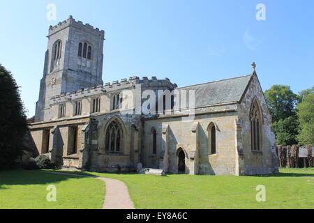 Church of St Martin, Burton Agnes, East Riding of Yorkshire, England, UK