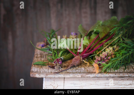 Herbs and vegetables - Stock Photo