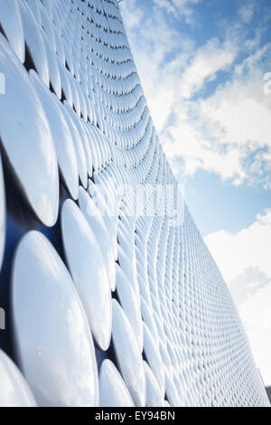 Exterior of the Selfridges building at the Bullring shopping centre in central Birmingham - Stock Photo