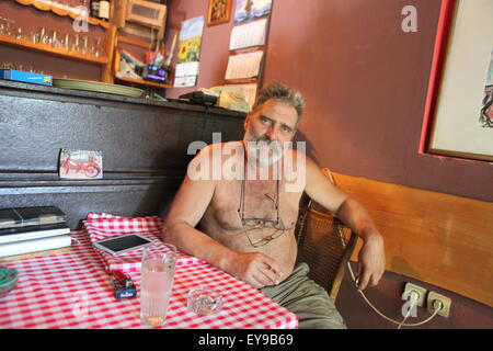 Carda Kod Carine, Petar Maksimovic's restaurant which used to be Liberland Settlement Associations's HQ in April - Stock Photo