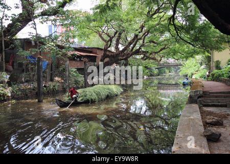Alleppey, Kerala, India - Stock Photo