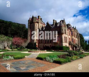 Belfast Castle, Co Antrim, Belfast, Ireland - Stock Photo