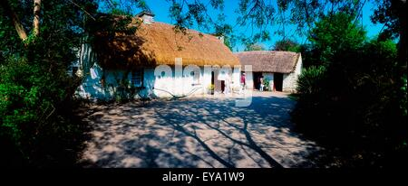 Bunratty Folk Park, Bunratty, Co Clare, Ireland - Stock Photo