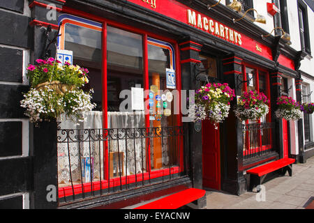 Maccarthy's Pub In Castletownbere On The Beara Peninsula In West Cork; County Cork, Ireland - Stock Photo