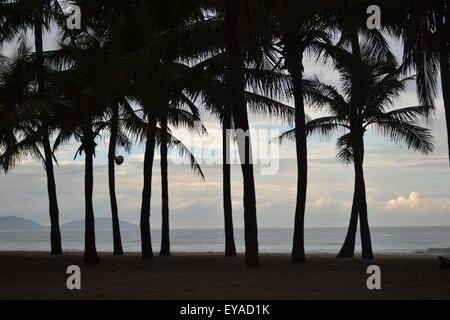 Beach in Hoi An, Vietnam - Stock Photo