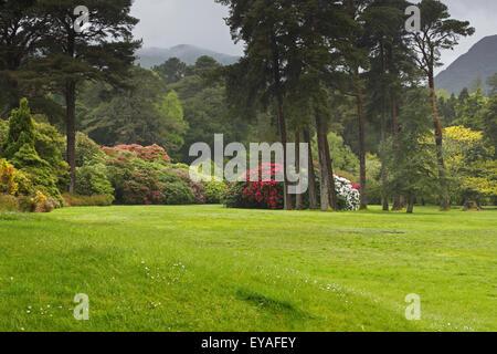 Muckross House Gardens In Killarney National Park; County Kerry, Ireland - Stock Photo