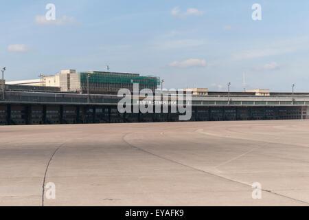 Former airport area Tempelhof in Berlin, Germany. - Stock Photo