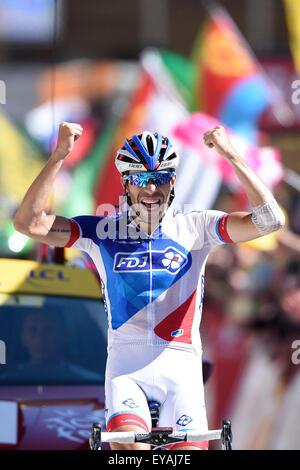 Modane Valfrejus to Alpe D'Huez France. 25th July, 2015 ...