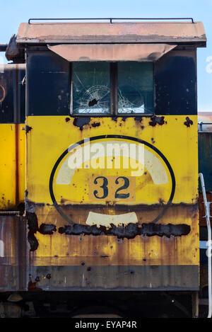 Canton Railroad Baldwin VO-1000 No 32, Baltimore & Ohio Railroad Museum, 901 West Pratt Street, Baltimore, MD - Stock Photo
