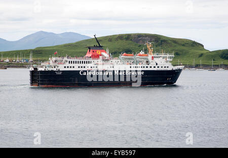 Caledonian MacBrayne ferry, Oban, Argyll and Bute, Scotland, UK - Stock Photo