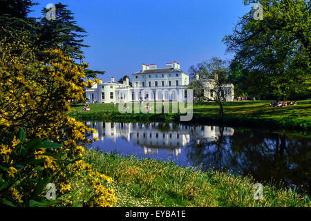 Frogmore House Windsor Berkshire UK With Reflections Of