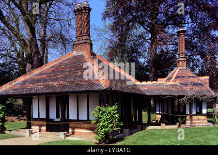 Queen Victoria's Tea House, Frogmore. Windsor. Berkshire. England. UK - Stock Photo