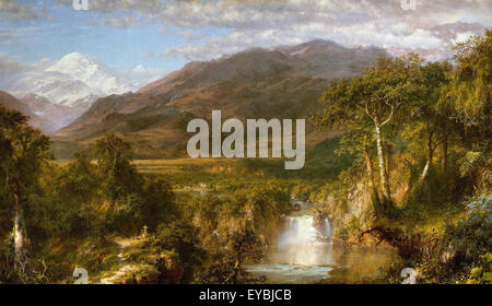 Frederic Edwin Church  Heart of the Andes - Stock Photo