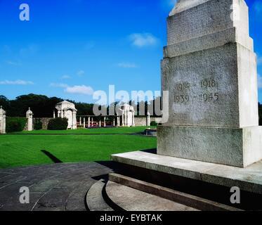 Irish National War Memorial Gardens, Dublin, Co Dublin, Ireland; Memorial To Irish Soldiers Who Fought In The Great - Stock Photo