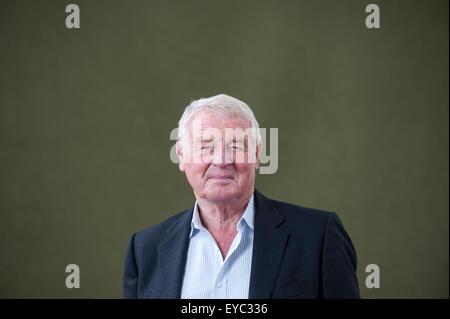 British politician and diplomat, Paddy Ashdown, appearing at the Edinburgh International Book Festival. - Stock Photo
