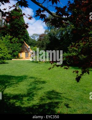 Creagh, Baltimore, Co Cork, Ireland; Thatched House Under Construction - Stock Photo