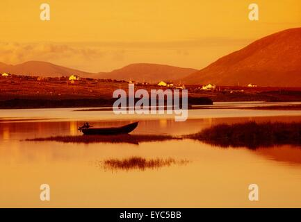 Cashel, Achill Island, County Mayo, Ireland - Stock Photo
