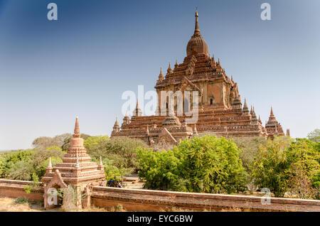 Ananda Temple, Bagan, Myanmar - Stock Photo