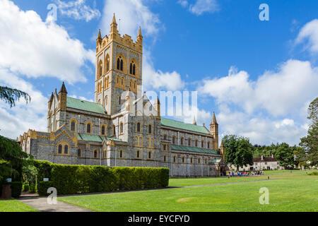 The Abbey Church of St Mary, Buckfast Abbey, Buckfastleigh, Devon, England, UK