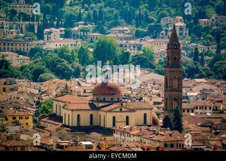 The Basilica of Santa Maria del Santo Spirito. Florence, Italy.