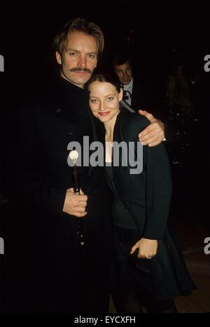 New York, New York, USA. 23rd Feb, 2015. STING with Judie Foster.15669. © Judie Burstein/Globe Photos/ZUMA Wire/Alamy - Stock Photo