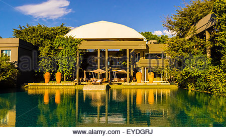 Swimming Pool Saxon Hotel Johannesburg South Africa Stock Photo Royalty Free Image 85735455