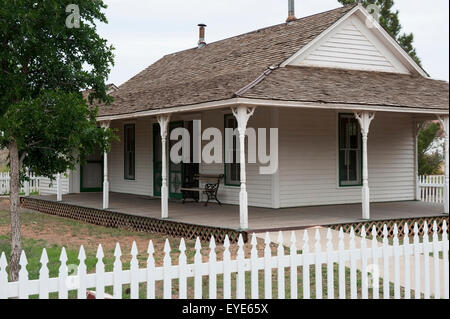 Matador Office At The National Ranching Heritage Center, Lubbock, Texas, Usa - Stock Photo