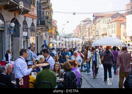 Milan city views - Stock Photo