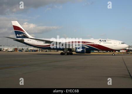 ARIK NIGERIA A330 - Stock Photo