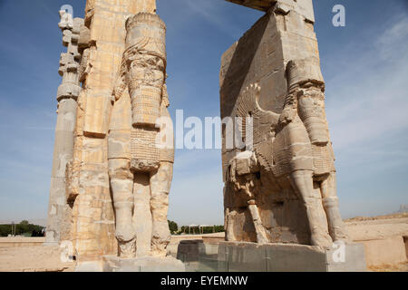 Gate of All Lands; Persepolis, Iran - Stock Photo