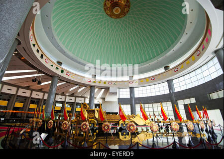 Royal Regalia Museum; Bandar Seri Begawan, Brunei - Stock Photo