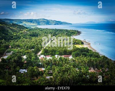 Looking out across Atauro Island; Timor-Leste - Stock Photo
