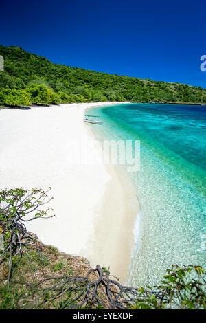 A beach near Baucau on Timor's Northern coast; Timor-Leste - Stock Photo