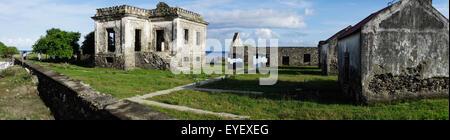 The ruins of Aipelo, a former Portuguese Prison; Timor-Leste - Stock Photo