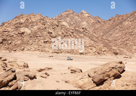 4x4 adventure, South Sinai; Sharm el-Sheikh, Egypt - Stock Photo