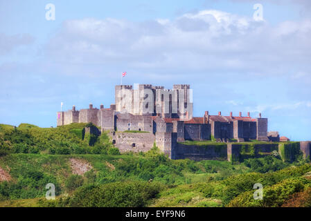 Dover Castle, Dover, Kent, England, United Kingdom - Stock Photo