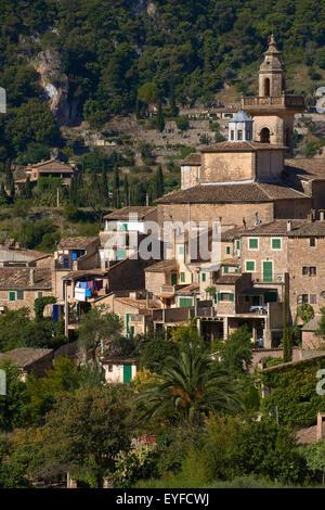Mallorca, Valldemosa, Majorca, Serra de Tramuntana, World Heritage Site, Balearic Islands, Spain - Stock Photo