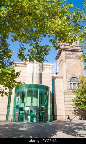 Laing Art Gallery building. Newcastle upon Tyne, England, UK - Stock Photo