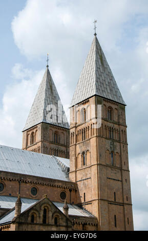 Southwell Minster, Nottinghamshire England UK - Stock Photo