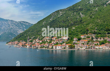 View Approaching Kotor, Montenegro - Stock Photo