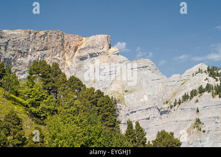 View of Vercors Regional Park. Isere. French Alps. France. - Stock Photo