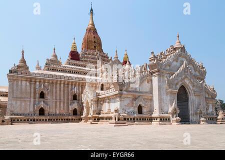 Ananda Temple on Bagan Plain, Myanmar, Burma - Stock Photo