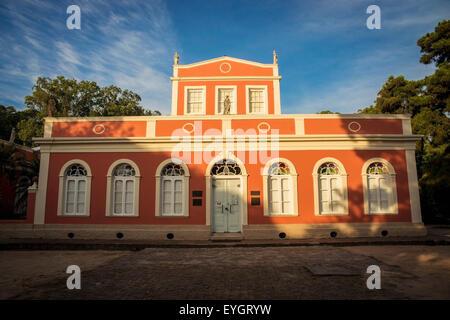 Brazil, Rio Grande do Sul, Museu da Baronesa; Pelotas - Stock Photo