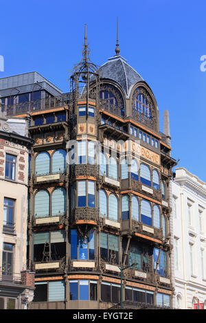 The Musical Instruments Museum (former department store Old England) in Brussels, Belgium - Stock Photo