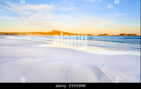 Lucky Bay beach in Cape Le Grand National Park, near Esperance, Western Australia - Stock Photo