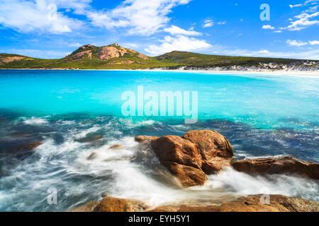 Thistle Cove beach in Cape Le Grand National Park, near Esperance, Western Australia - Stock Photo