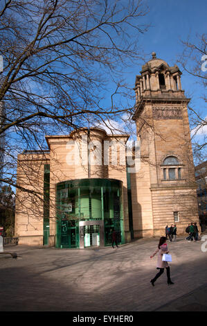 Laing Art Gallery, Newcastle-upon-Tyne - Stock Photo