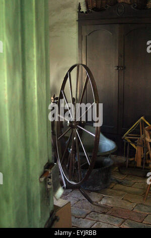 spinning wheel brian mcguire - Stock Photo