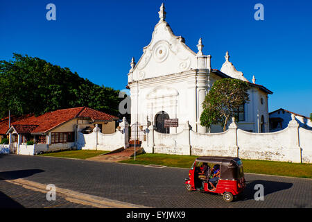 Sri Lanka, Southern Province, South Coast beach, Galle, old town, Dutch fort, UNESCO World Heritage site - Stock Photo