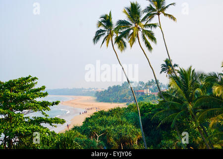Sri Lanka, West Coast, Bentota, beach - Stock Photo